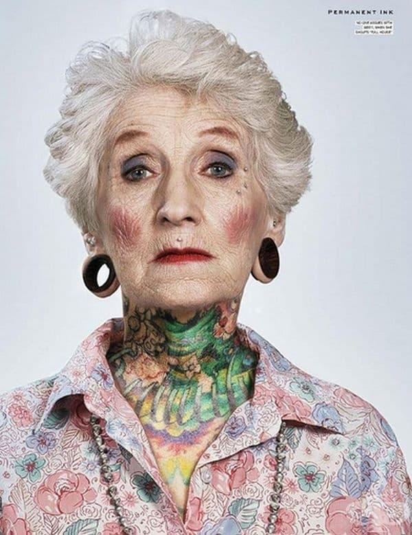 Замисляли ли сте се за татуировките в напреднала възраст? Разгледайте