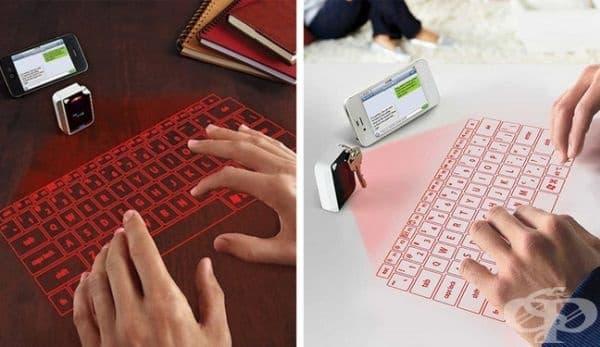 Виртуална инфрачервена клавиатура ще улесни комуникацията през телефона.