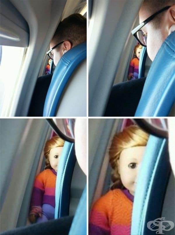 Сигурен съм, че Чъки и Анабел също са на борда на самолета.