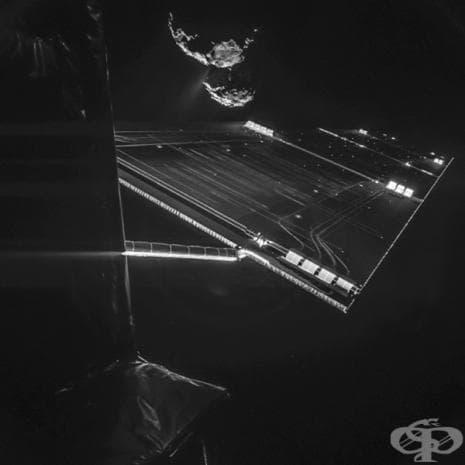 Селфи с комета - 290 000 000 мили от Земята.
