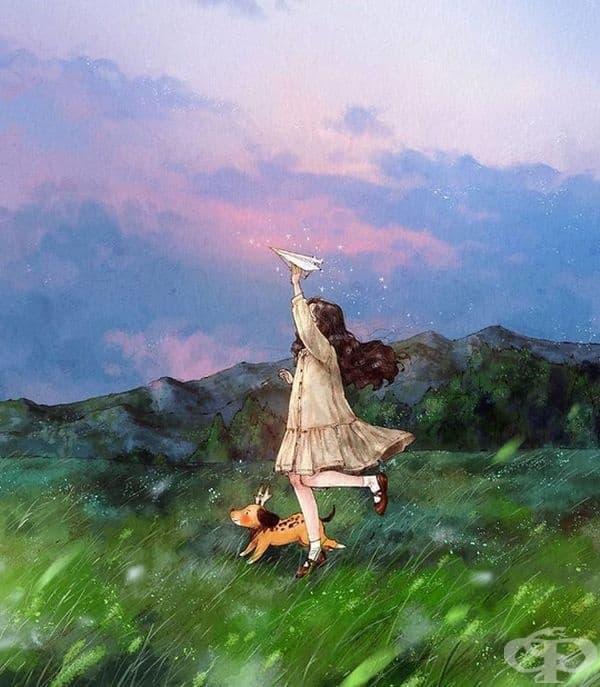Корейска художничка доказва, че самотните хора могат да бъдат щастливи