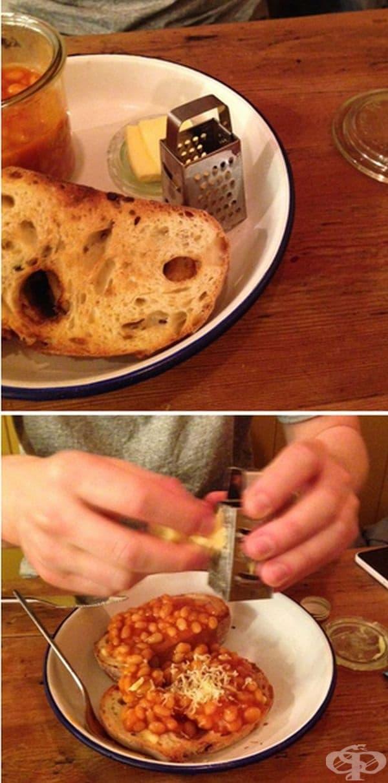 "Боб с тостер, тип ""направи си сам""."