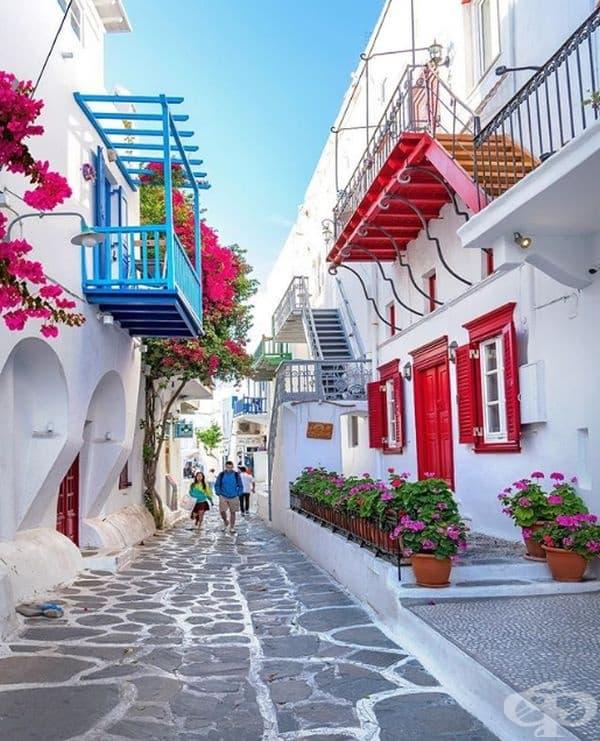 Миконос, Гърция.