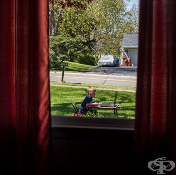 Нямах това предвид, когато казах на сина ми, че е по-добре да играе навън.
