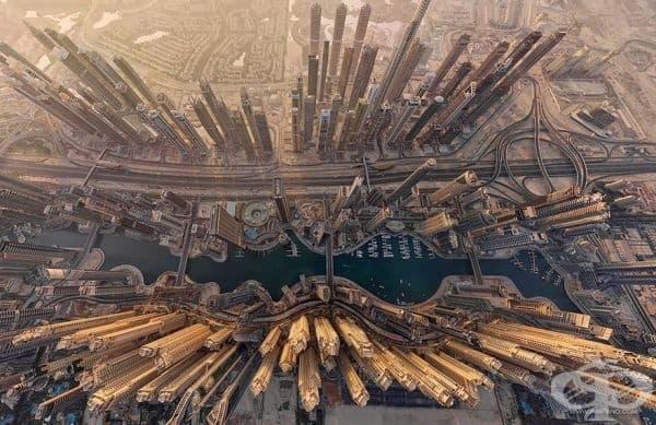 Яхтеното пристанище в Дубай, ОАЕ.