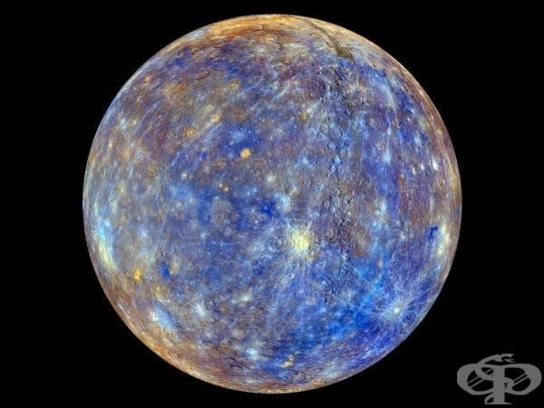 Най-подробното изображение на Меркурий, правено някога.
