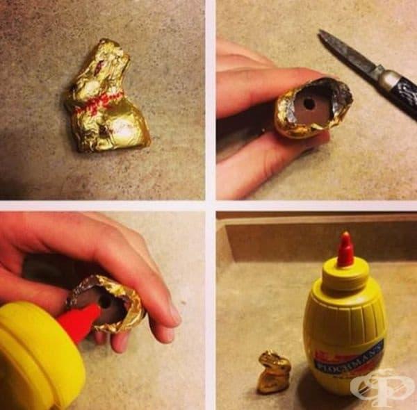Стар трик за Великден.