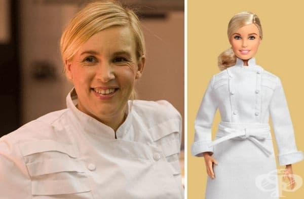 Хелен Дарозе, световноизвестен готвач.