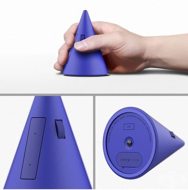 Компютърна мишка – конус. Според корейския индустриален дизайнер Inyep Baek необичайна форма предотвратява развитието на тунелен синдром, тъй като човешката ръка е в естествено положение при използване.