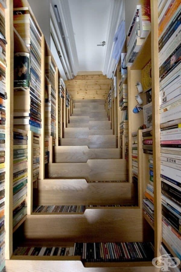 Библиотека-стълбище.