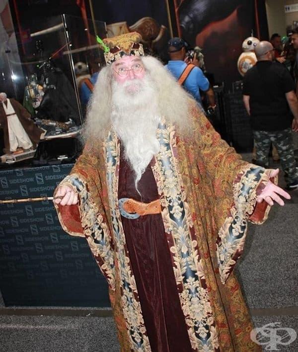 Дъмбълдор, Хари Потър