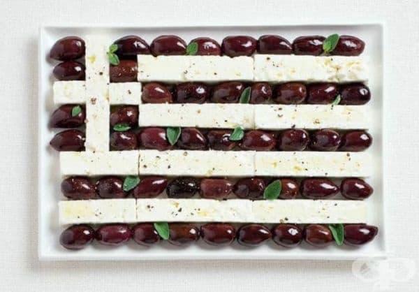 Гърция: маслини от Каламата, сирене Фета