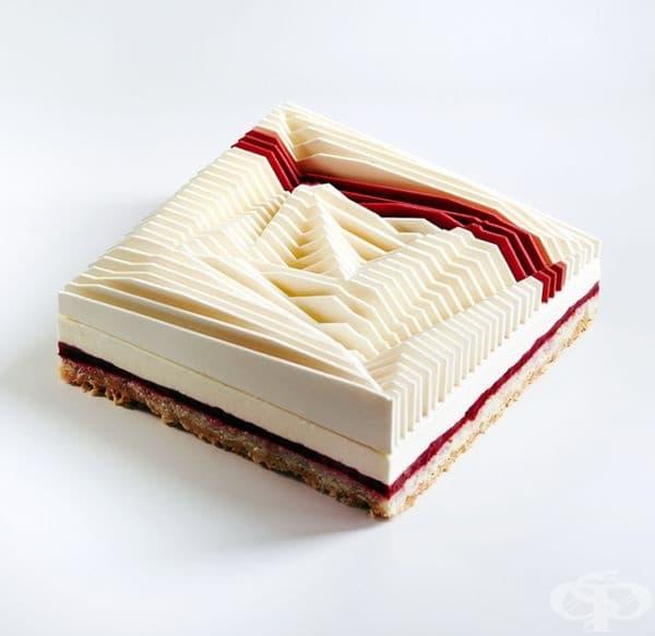 Геометрична кинетична торта № 3.