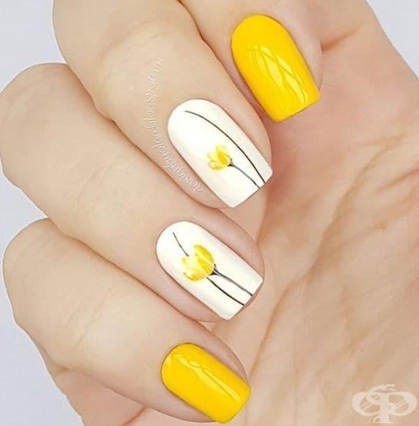 Това лято на мода е жълтият маникюр. Ето нашите 20 предложения