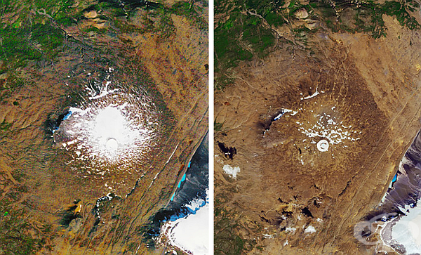През август 2019 г. бе отбелязан ледникът Оккокул в Исландия.