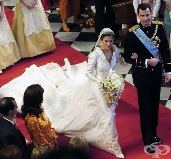 Летисия Ортис Рокасолано, кралицата на Испания, 1998 г.