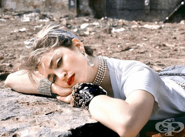 Жената е Мадона, а ролята, за която е прослушана - на Мария Магдалена.