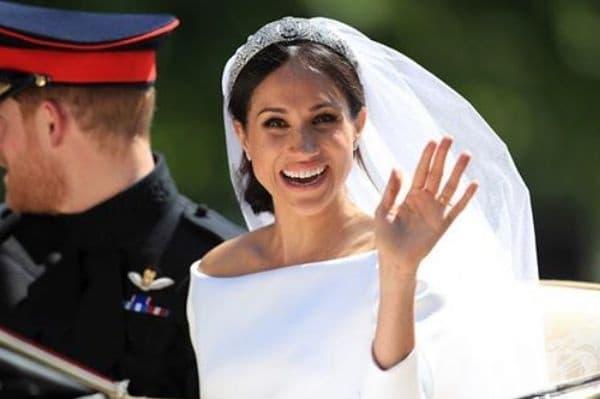 """Тя изнесе реч на сватбата. Новата херцогиня на Съсекс благодари на кралицата, принц Чарлз и други членове на кралското семейство за топлото отношение към нея и нейните близки и завърши речта си с докосващите думи: """"Намерих своя принц""""."""