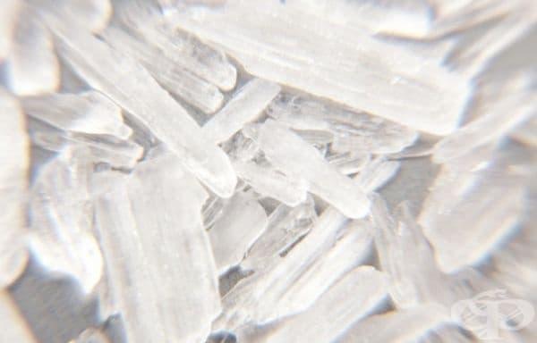 12. Метамфетамин - 100 $ на гр. Това е синтетичен наркотик със стимулиращо действие, което може да доведе до трайни увреждания на мозъка. Забранен е от закона.
