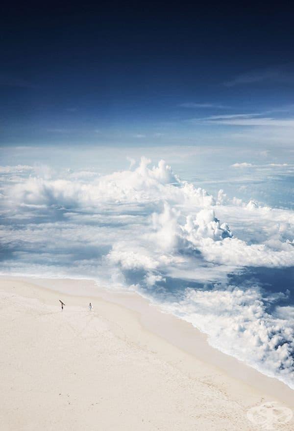 Представете си, че може да плувате в облаците