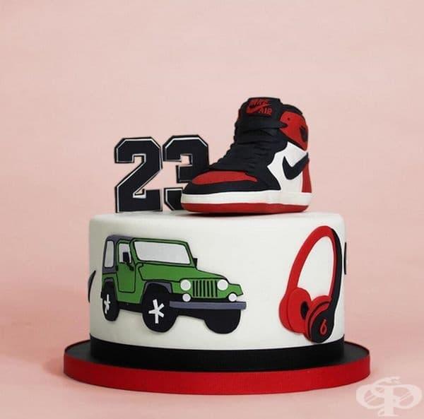Торта за спортисти.