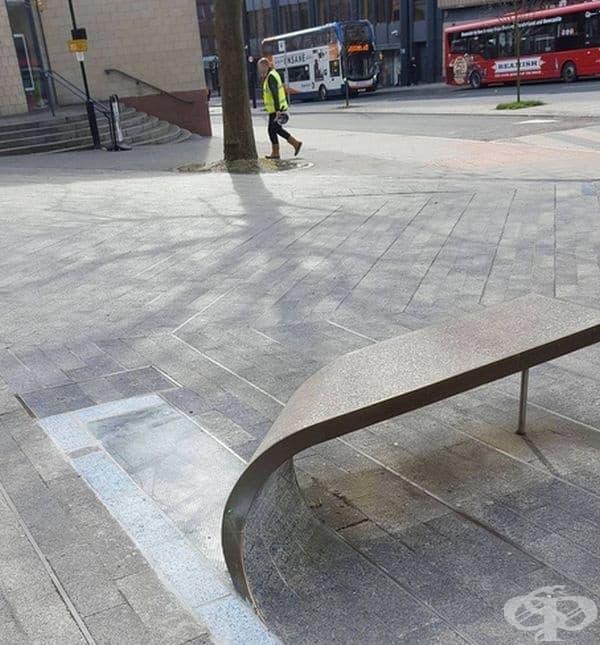 Най-готината обществена пейка!