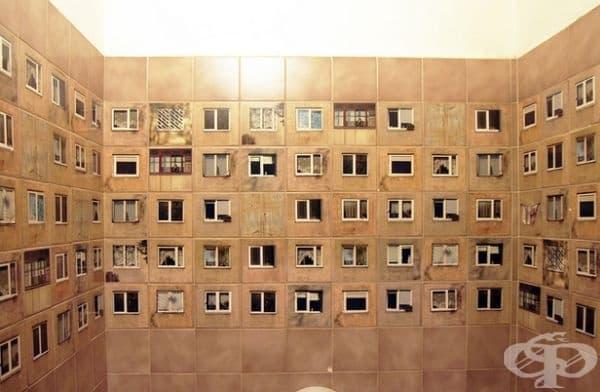 Нова концепция на плочки за вашата тоалетна. Определено не е предназначена за срамежливи хора
