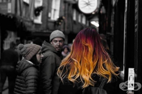"""""""Огнената коса на приятелката ми""""."""