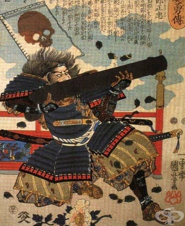 Мит 5. Самураите са презирали огнестрелните оръжия. Японците се адаптират бързо към успешните идеи. От XVI век те са използвали огнестрелните оръжия не по-лошо от европейците. Ритуалът е едно, а истинската битка – друго.