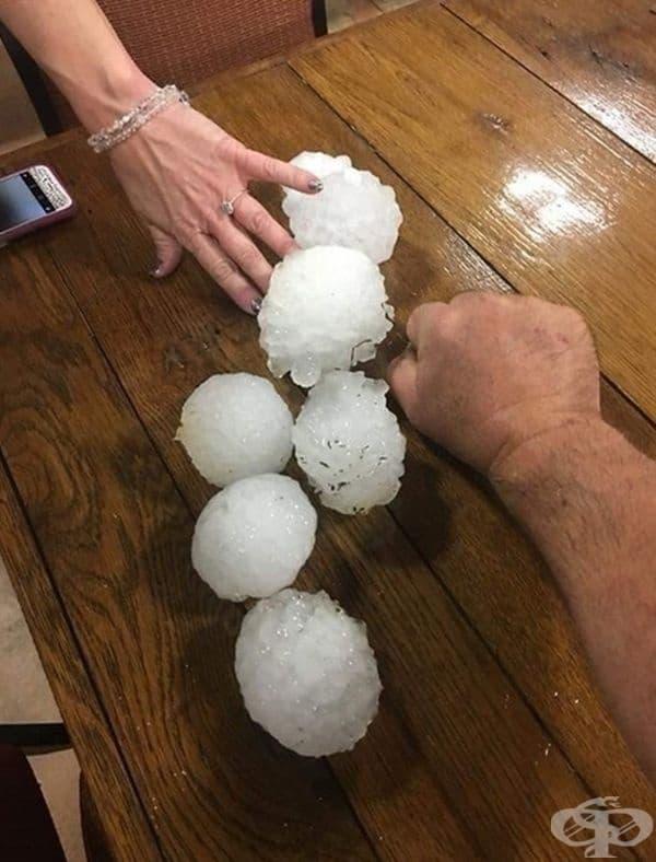 Ледени топки от Алабама.