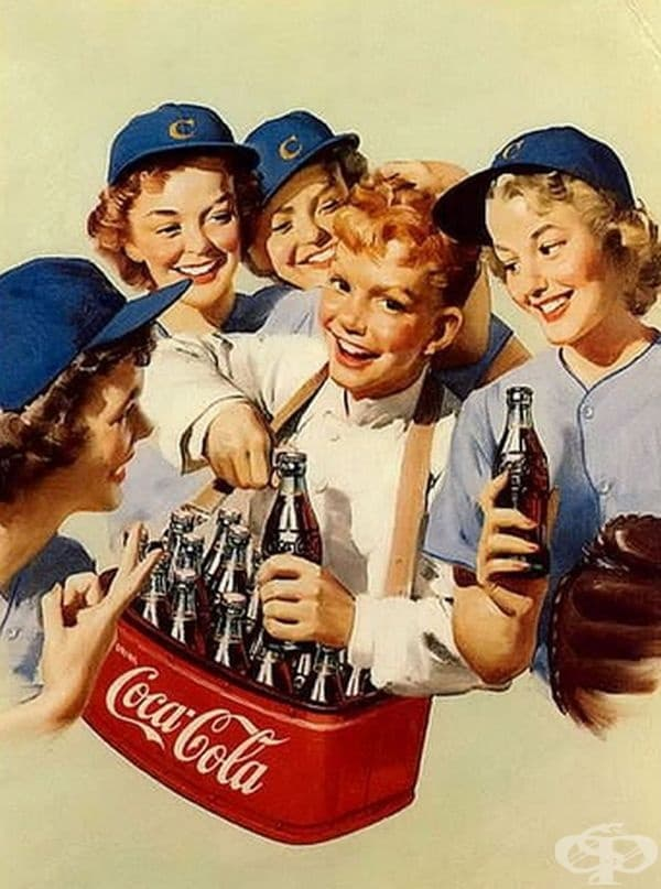 """Безалкохолна напитка Coca-Cola"""