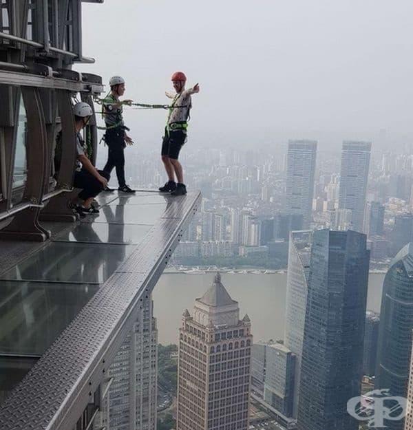 Приготвя се за скок над Шанхай.