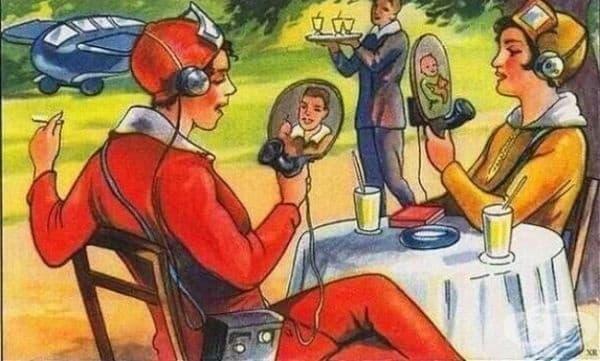 Бъдещите технологии през очите на френски илюстратори от 1924г.