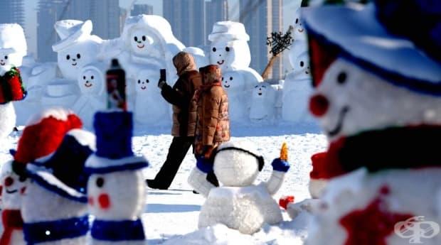 Фестивалът в Харбин продължава един месец.