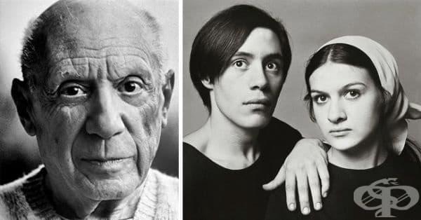 """Това са най-малките деца на брилянтния художник Пабло Пикасо. В момента Клод оглавява """"Администрация Пикасо"""", а Палома е известен дизайнер на бижута и има своя собствена парфюмна империя."""