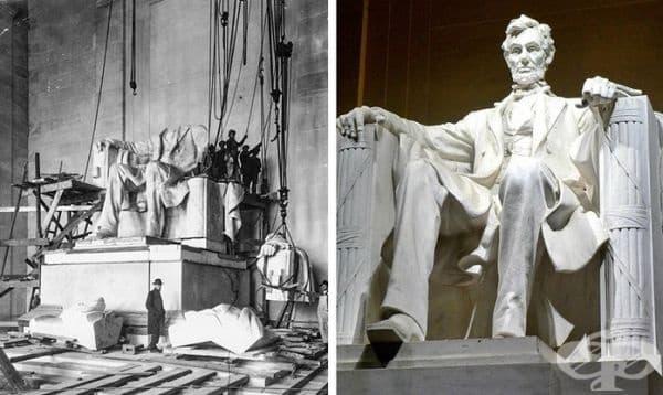 Мемориал на Линкълн, Вашингтон, САЩ. Строителство: 1914-1922 г