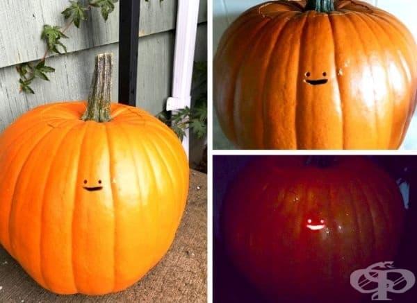 И така може да се посрещне Хелоуин.