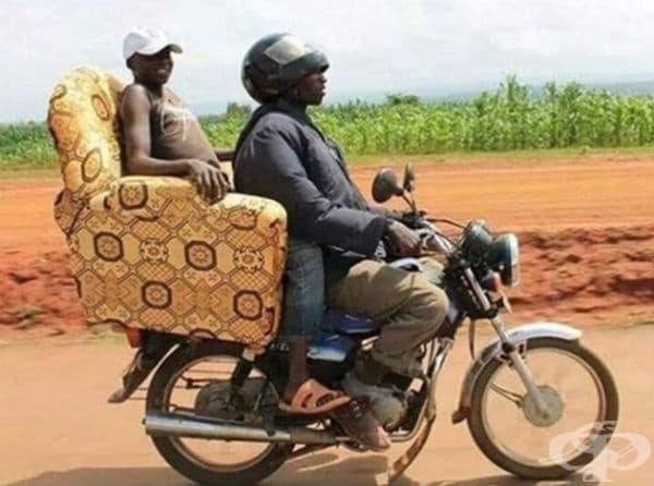Защото някои пътуват комфортно.