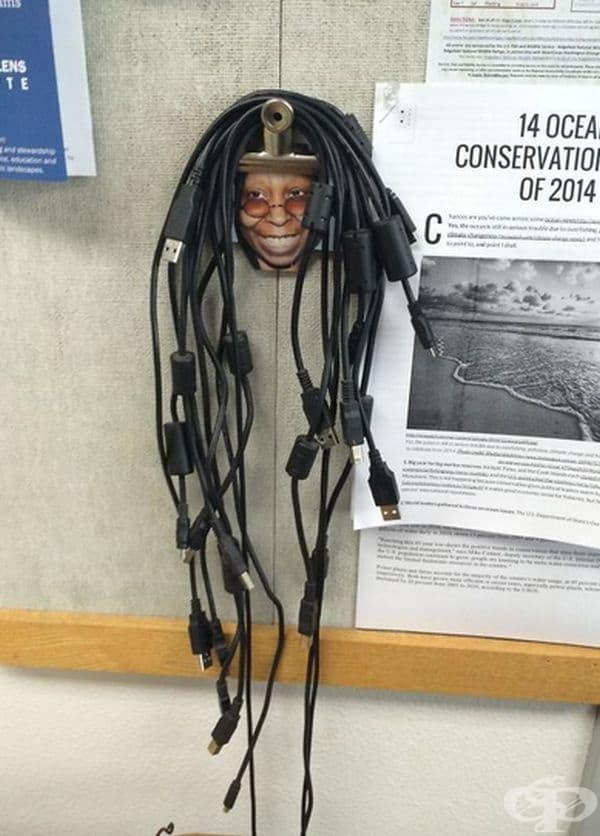 """""""Ето това видях в кабинета по информатика в училището на приятеля ми""""."""