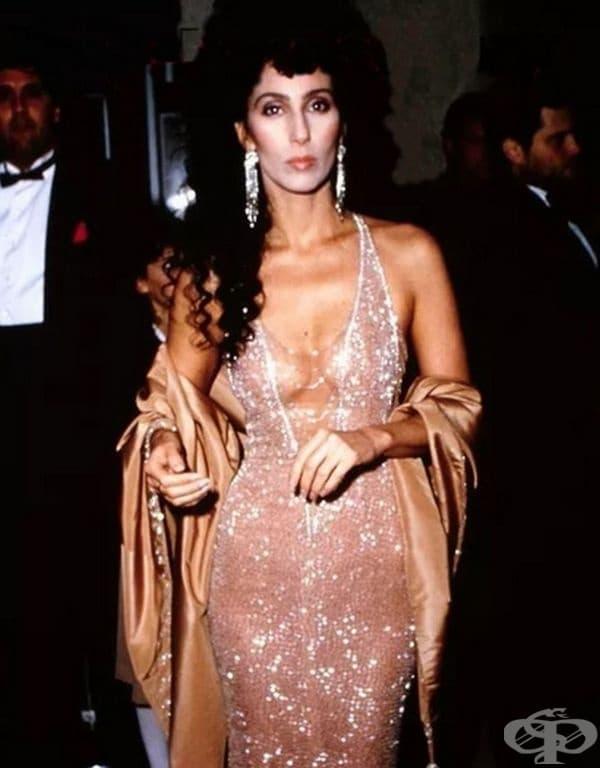 "Шер  на филмовите награди ""Оскар"" през 1984 г."