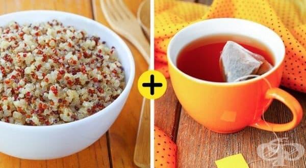 Подобряване вкуса на зърнените храни. Добавете пакетче чай във водата, с която ще приготвяте зърнената закуска.