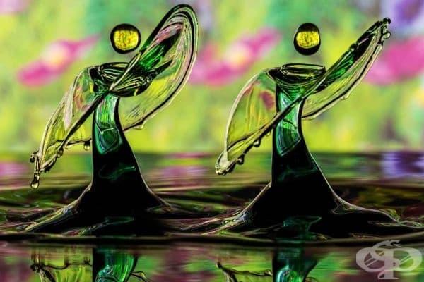 Танцуващи капки (фотограф: Ronny Tertnes).