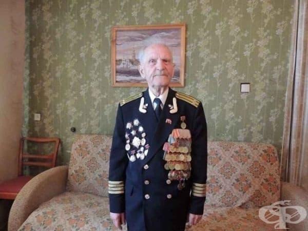 Супергерой в реалния живот: Николай Беляев (96 години) е последният оцелял войник, който щурмува хитлеристкия Райхстаг през 1945 година.
