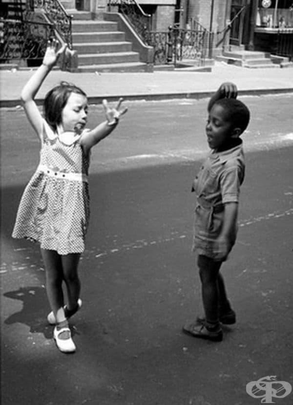 Танц на улицата, Ню Йорк, 1940 г.