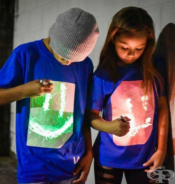 Тениски, върху които може да се рисува.