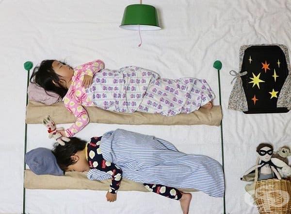 Винаги са искали двуетажни легла.