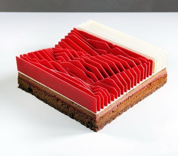 Геометрична кинетична торта № 4.