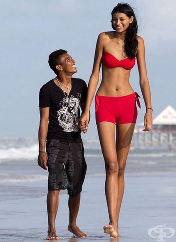 Елизани да Круз Силва – най-високата тийнейджърка в света. На 22 г. тя е с височина цели 206 см. Причината за нейния ръст е заболяване на хипофизата.