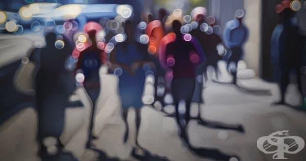 Художник показва как виждат хората с лошо зрение