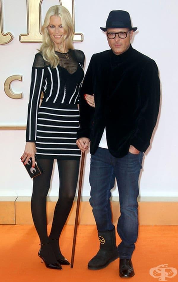 Клаудия  Шифър се жени за филмовия продуцент Матю Вон 16 месеца след като са се срещнали. Сватбата им се е състояла в окръг Суфолк (Великобритания) през 2002 г.